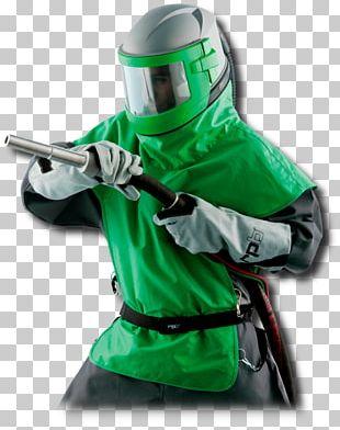 Abrasive Blasting Motorcycle Helmets Plastic PNG