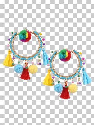 Jewellery Earring Tassel Bead Pom-pom PNG