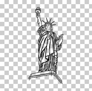 Statue Of Liberty Monument Drawing Art PNG
