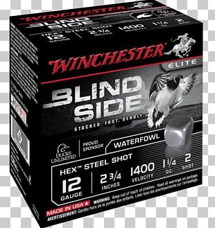 Shotgun Shell Winchester Repeating Arms Company Calibre 12 Cartridge PNG