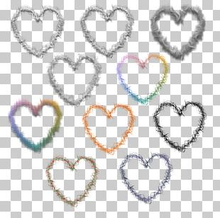 Heart Romance Love Painting PNG
