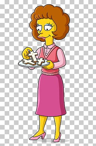 Maude Flanders Ned Flanders Bart Simpson Marge Simpson Mona Simpson PNG