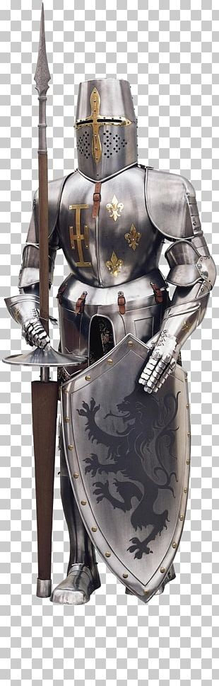 Knight Crusader Crusades Middle Ages Plate Armour PNG