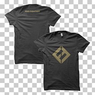 T-Shirt Foo Fighters Concrete And Gold Nine Inch Nails PNG