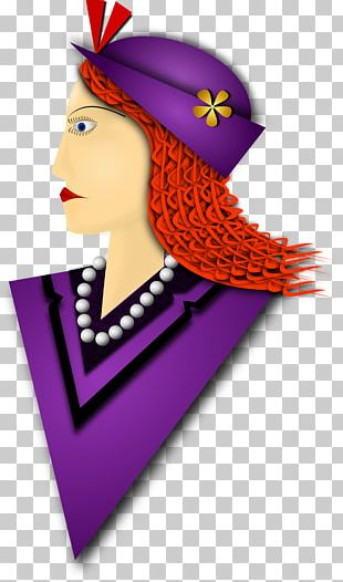 Purple Hair Accessory Hat PNG
