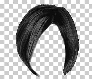 Short Black Women Hair PNG