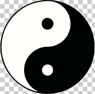 Yin And Yang Taoism Qigong Taijitu Chinese Philosophy PNG