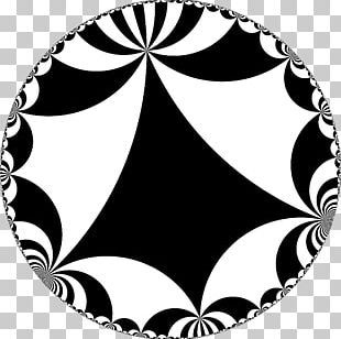 Triangle Group Hyperbolic Geometry Tessellation PNG