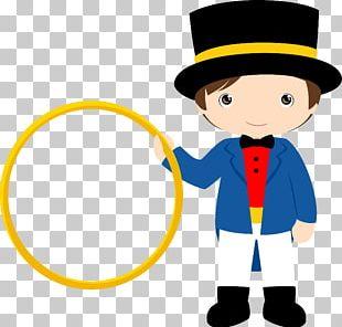 Circus Clown Ringmaster Party PNG