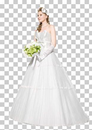 Wedding Dress Bride White PNG