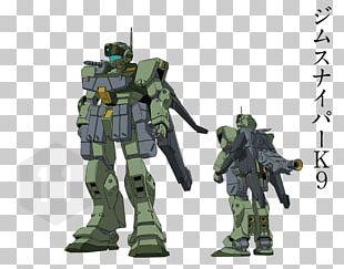 Gundam War Collectible Card Game RGM-79 GM Gundam Model ジム・スナイパー PNG