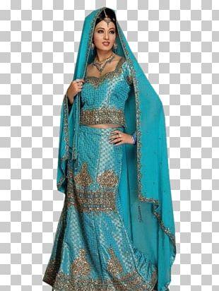 Lehenga Gagra Choli Wedding Dress Bride PNG