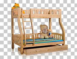 Bed Frame Bunk Bed Furniture PNG