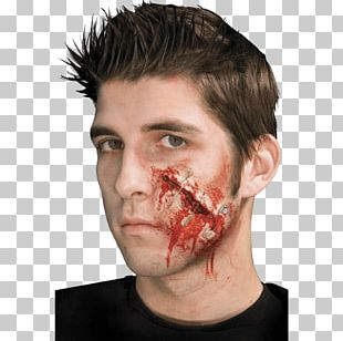 Wound Costume Make-up Halloween Scar PNG