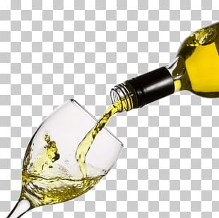 Pouring White Wine Glass PNG