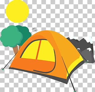 Camping Tent Computer File PNG