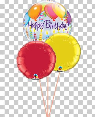 Happy Birthday To You Balloon Gift Party PNG