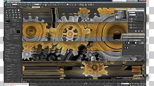 Technology Computer Software Machine Vehicle Autodesk 3ds Max PNG