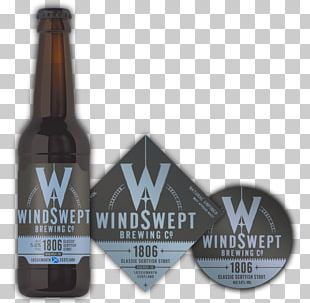 Beer Bottle Windswept Brewing Co Windswept Blonde (500ml) Port Wine PNG