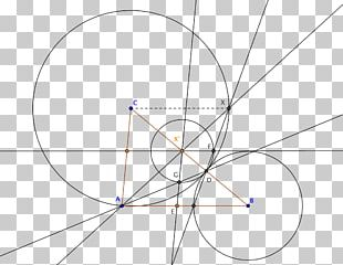 Circle Drawing Line Triangle Point PNG