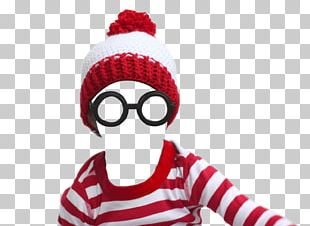 Where's Wally? T-shirt Crochet Halloween Costume Beanie PNG
