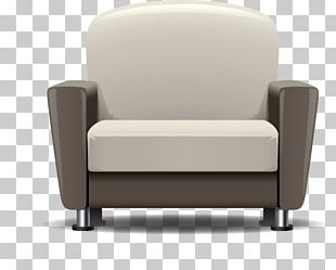 Club Chair Furniture Couch Upholstery Loveseat PNG