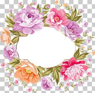 Wedding Invitation Flower Bouquet Pink Flowers PNG