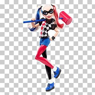 Harley Quinn DC Super Hero Girls Supergirl Action Doll Superhero DC Comics Super Hero Girls 12 Inch Action Figure PNG
