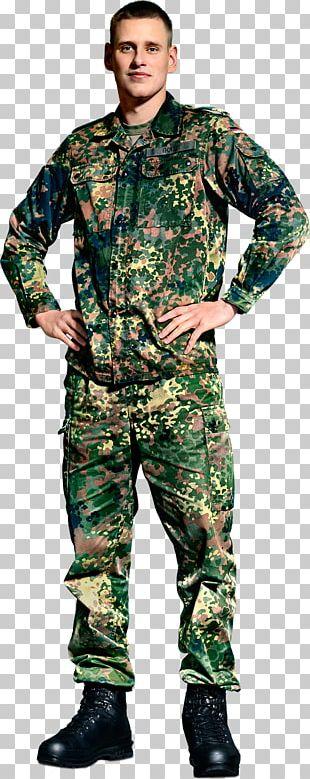 Military Camouflage Soldier Die Rekruten Army PNG