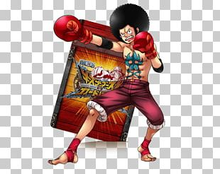 Monkey D. Luffy One Piece Treasure Cruise Straw Hat Boxing Glove PNG