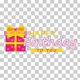 Happy Birthday To You Gift PNG