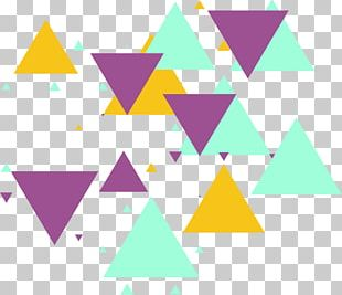 Triangle Geometric Shape Pattern PNG