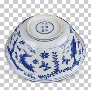Ceramic Blue And White Pottery Cobalt Blue PNG