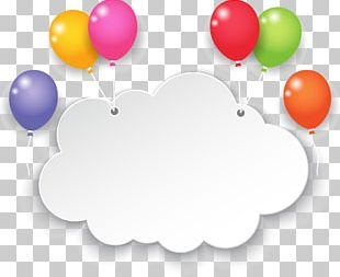 Cloud Balloon Sky PNG