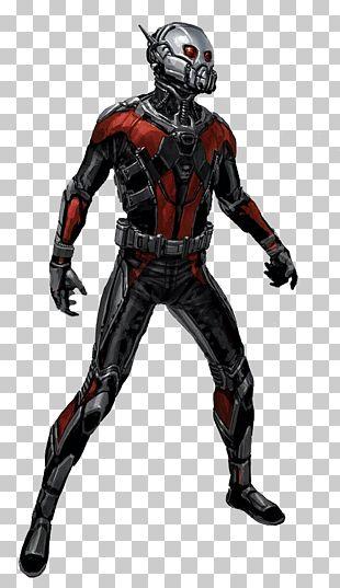 Ant-Man Wasp Hank Pym Concept Art Marvel Comics PNG