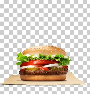 Whopper Hamburger Cheeseburger Veggie Burger Big King PNG