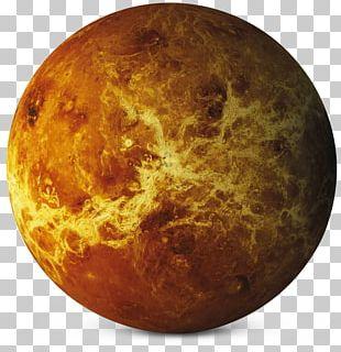Earth Venus Planet Solar System Desktop PNG