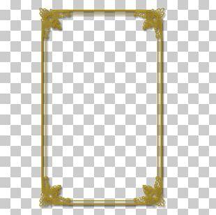 Gold Frame PNG
