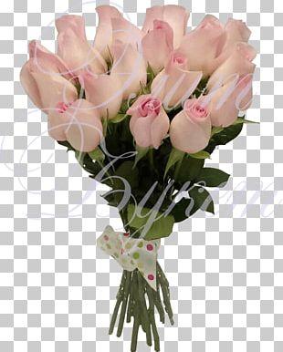 Garden Roses Pink Floral Design Flower Bouquet PNG