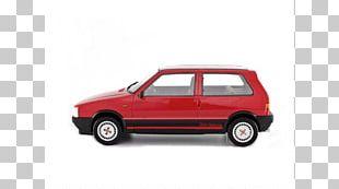 Bumper Car Fiat Uno Fiat Automobiles Die-cast Toy PNG