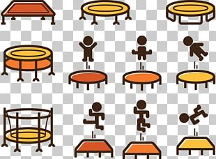 Trampoline Juggling Icon PNG