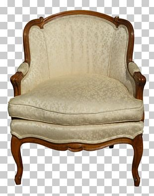 Loveseat Club Chair Antique PNG