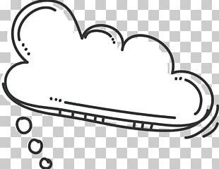 Bubble Cloud Vecteur PNG