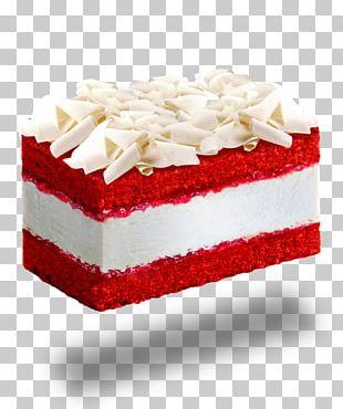 Chantilly Cream Black Forest Gateau Torte Red Velvet Cake PNG