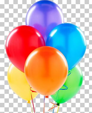 Balloon Birthday Party Latex Gift PNG