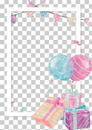 Balloon Gift PNG