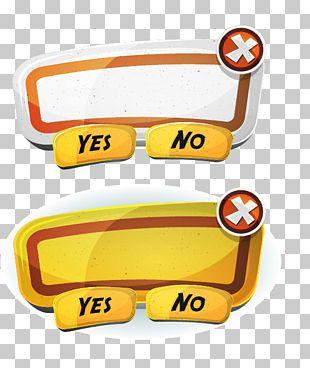 User Interface Design Button Illustration PNG