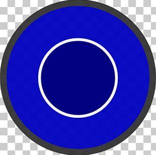 Electric Blue Cobalt Blue Circle PNG