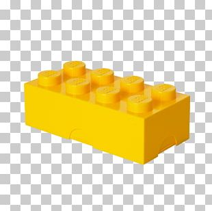 Lego Minifigures Box Toy Blue PNG