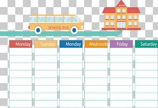School Timetable PNG